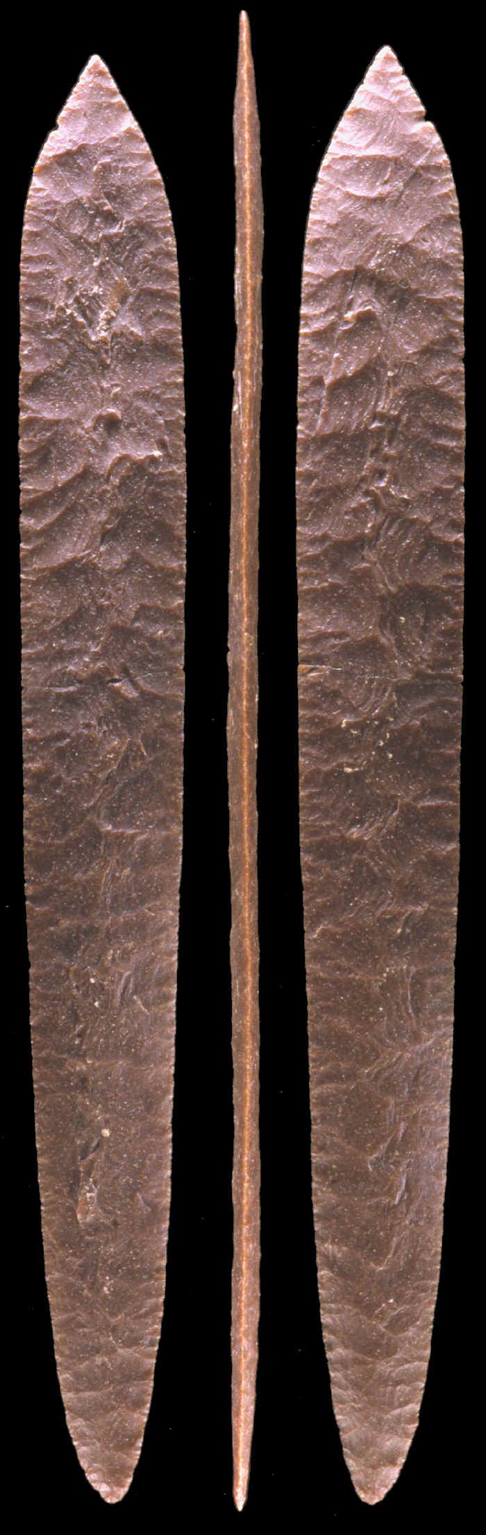 Large Aztec biface 24 1/4 inches long.