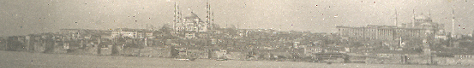 1903 picture of coastline view of Constantinople.