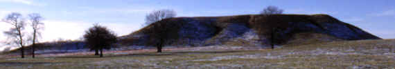 Largest mound at Cahokia, Mounds Mound.